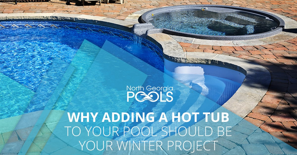 Why Adding A Hot Tub To Your Pool Should Be Your Winter