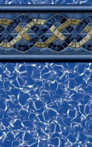 Andora Tile Border (Beaded Above Ground)