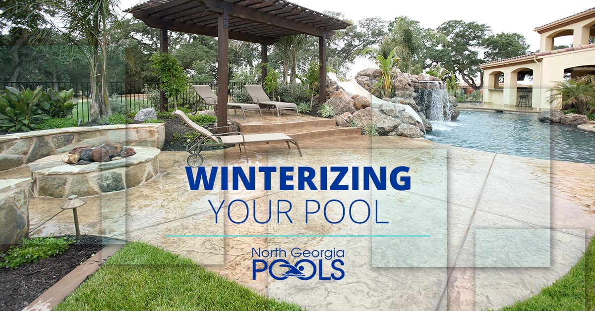 Winterizing Your Pool North Georgia Pools Cleveland Oh