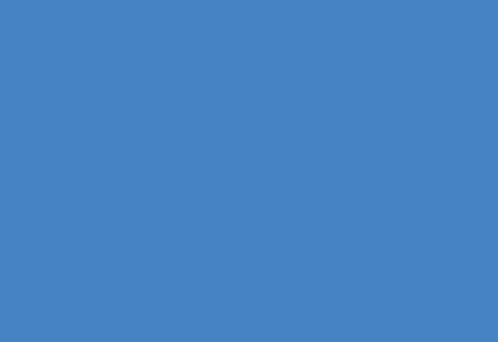 Solid Blue Overlap